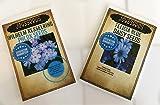 Felicia Blue Daisy 150 Daisy Seeds Upc 600188190717 + Free Packet Wilhelm Phlox