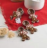 Mud Pie Gingerbread Measuring Spoon Set