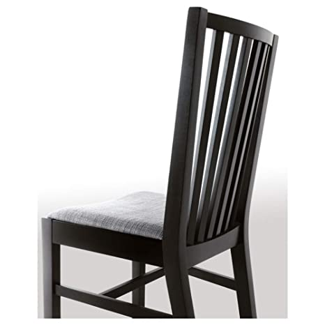 Peachy Amazon Com Norrnas Chair Black Isunda Grey Kitchen Dining Pdpeps Interior Chair Design Pdpepsorg
