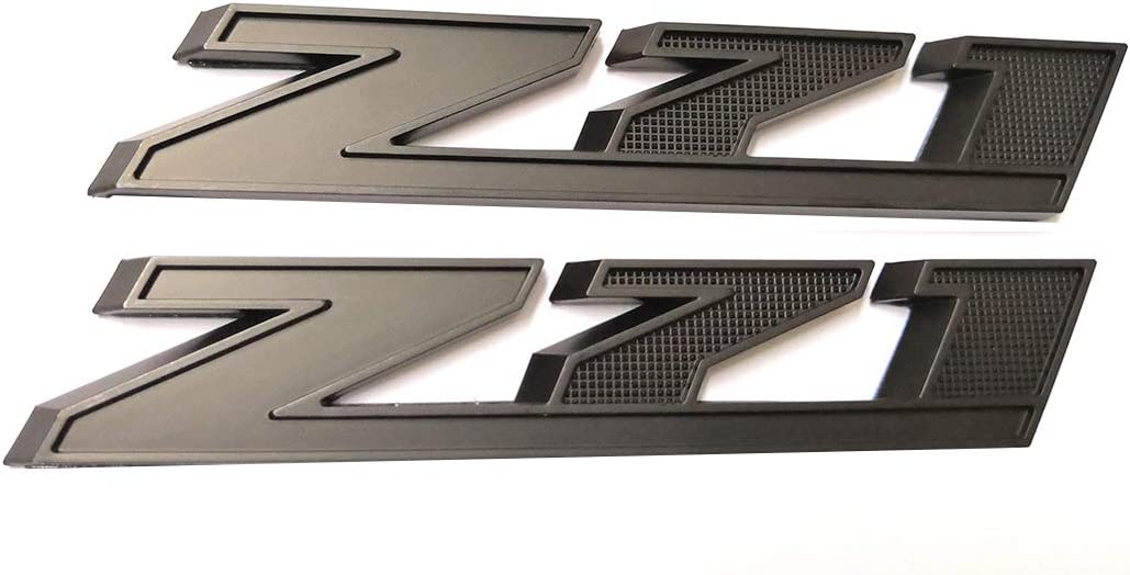 2Pcs New OEM Z71 Emblem Decal for GM Chevy Silverado 1500 2500HD Sierra Tahoe