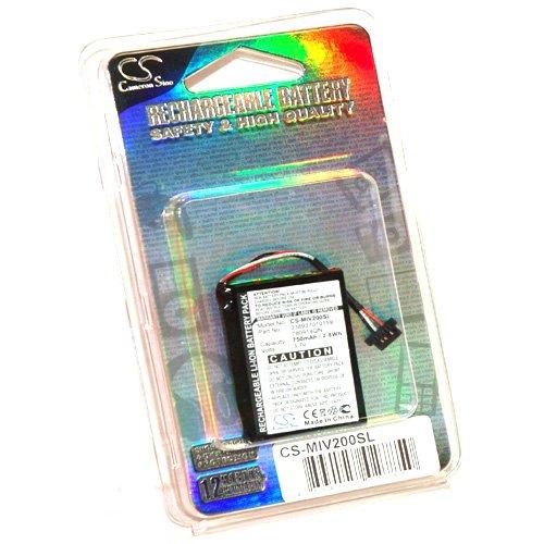 Simply Silver - New Battery Mio Moov 200 200e 210 200u GPS 3.7V 750mAh 780914QN