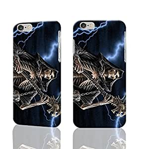 "Grim Reaper Gothic Death Angel 3D Rough iphone 6 -4.7 inches Case Skin, fashion design image custom iPhone 6 - 4.7 inches , durable iphone 6 hard 3D case cover for iphone 6 (4.7""), Case New Design"