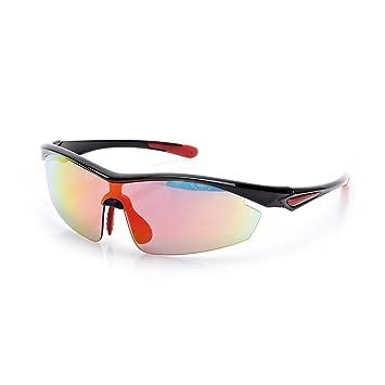 HONEY Polarisierte Sonnenbrille der Männer u. Der Frauen, UV400 im Freien schützende Sport-Gläser, 5 Objektiv ( Farbe : B )