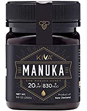 Kiva Raw Manuka Honey, Certified UMF 20+ (MGO 850+) - New Zealand (8.8 oz) - LIMITED TIME SALE!