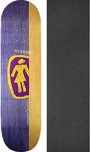 政権アナロジー男らしさGirl Skateboards Rick Howard Sketchy ogスケートボードデッキ – 8.5