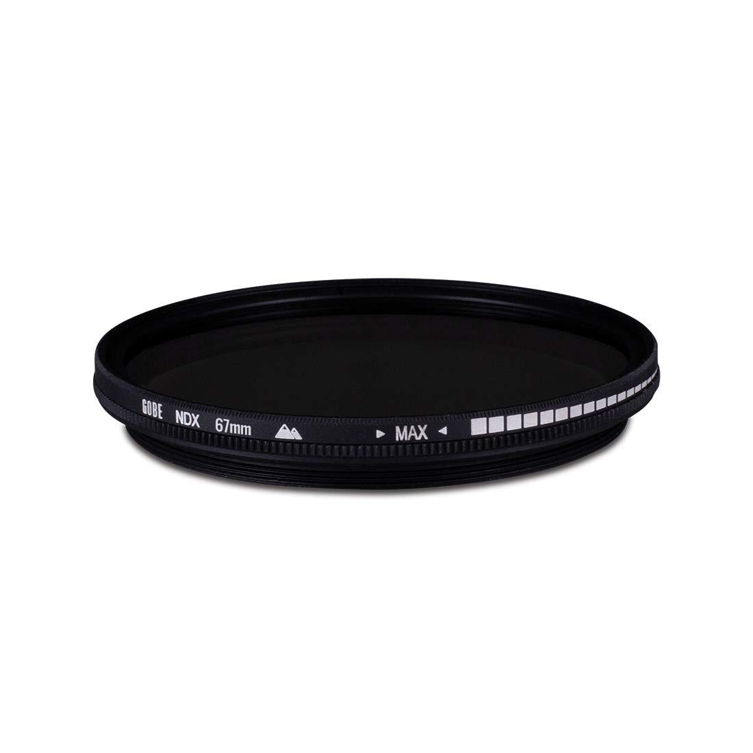 Filtro para Lente NDX/62mm/de Densidad Neutra/Variable Gobe/