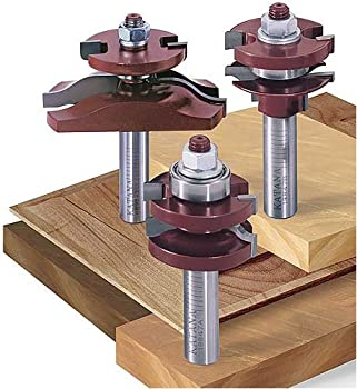KATANA Raised Panel Ogee Router Bit Set with Undercutter