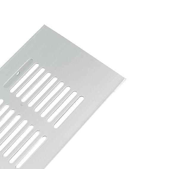 eDealMax 150mmx80mm 2pcs aleación de aluminio Rejilla de ventilación de aire de ventilación tipo persiana cubierta de la parrilla - - Amazon.com