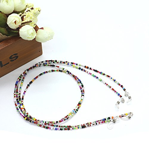 Pack Of 2 Beaded Eyeglass Chain Sunglasses Holder Strap Eyewear Retainer Lanyard By - Manufacturers Sunglass