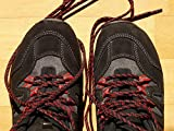 Home Comforts Acrylic Face Mounted Prints Shoe Lace Shoelaces Mountaineering Shoes Hiking Print 20 x 16. Worry Free Wall Installation - Shadow Mount is Included.
