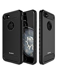 MASCHERI ZY9187 IPhone 8/7 Case, Carbon Fiber Shock Absorptio...