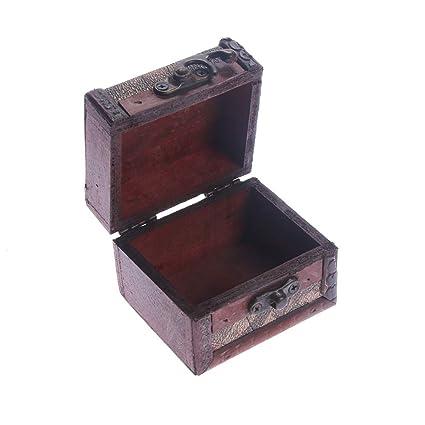 Amazon.com: eorta Vintage pequeña caja de almacenamiento de ...