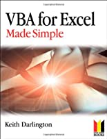 VBA For Excel Made Simple Front Cover