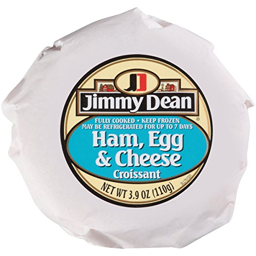 Jimmy Dean Ham/Egg/Cheese Croissant Sandwich, 3.9 oz., 12 per case (Best Cheese For Ham And Cheese Croissant)