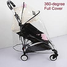 Weather Shield, Rain Cover, Plastic Clear Netting for Babyzen YOYO Stroller (Full Cover)