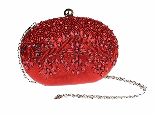Pochette Red doré pour Puluo Or femme AxF0xdn