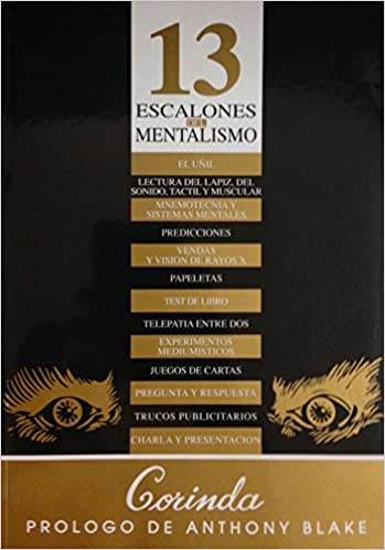 13 escalones del mentalismo (Spanish Edition): Tony Corinda ...