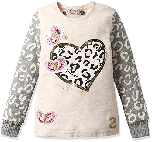 Desigual Little Girls' T-Shirt Utah, Crudo, 3/4 by Desigual