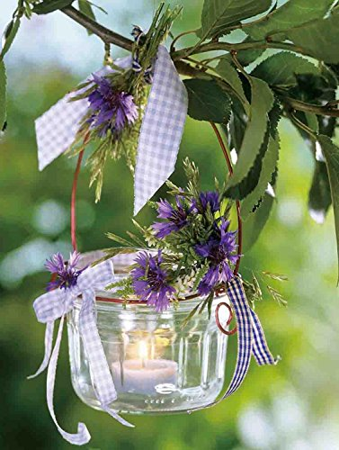 15.75 in. x 11.75 in. Tea Candle with Purple Flowers LED Lighted Canvas Wall Art -  NorthLight, 32039537