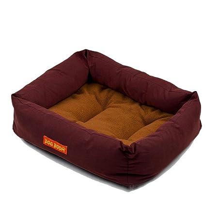 cama de perrito Sannysis perrera Casa para mascotas 42cmX35cmX13cm (Rosa): Amazon.es: Deportes y aire libre