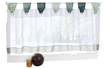 Amazoncom Homeyho Semisheer Cafe Curtains Small Curtains For