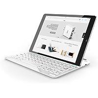 """Anker Ultra-Thin Deutsche Bluetooth Tastatur Keyboard Case Cover für Apple iPad Air 2 / iPad Air / New iPad 9.7""""(2017) / New ipad 9.7""""(2018) - Smart Cover mit eingebauter 800mAh Li-ion Batterie (Weiß)"""