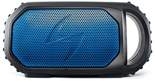 ECOXGEAR Eco Stone Portable Outdoor Bluetooth Speaker - Retail Packaging - Blue