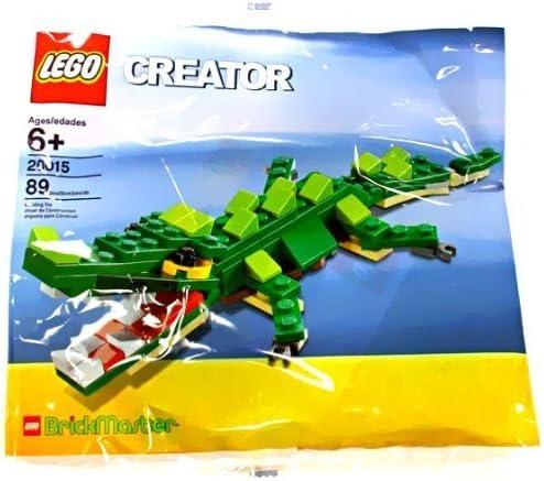 LEGO Creator BrickMaster Exclusive Mini Building Set #20015 Crocodile Bagged