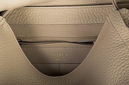 Bag Furla beige Damen Tasche Leder capriccio Handtasche 8AIwqIHxp