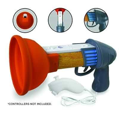 Amazon Com Wii Rayman Raving Rabbids Plunger Gun Video Games