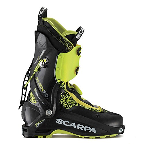 SCARPA Alien RS Alpine Touring Boot Carbon Black, 27.0