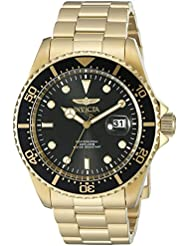 Invicta Mens Pro Diver Quartz Stainless Steel Casual Watch (Model: 22062)