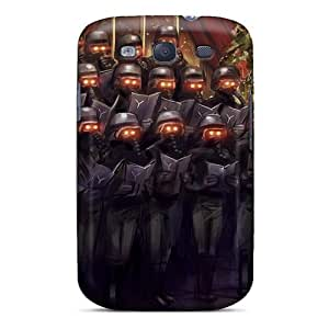 AwZsCBl3437NcWqD Tpu Phone Case With Fashionable Look For Galaxy S3 - Ready For War