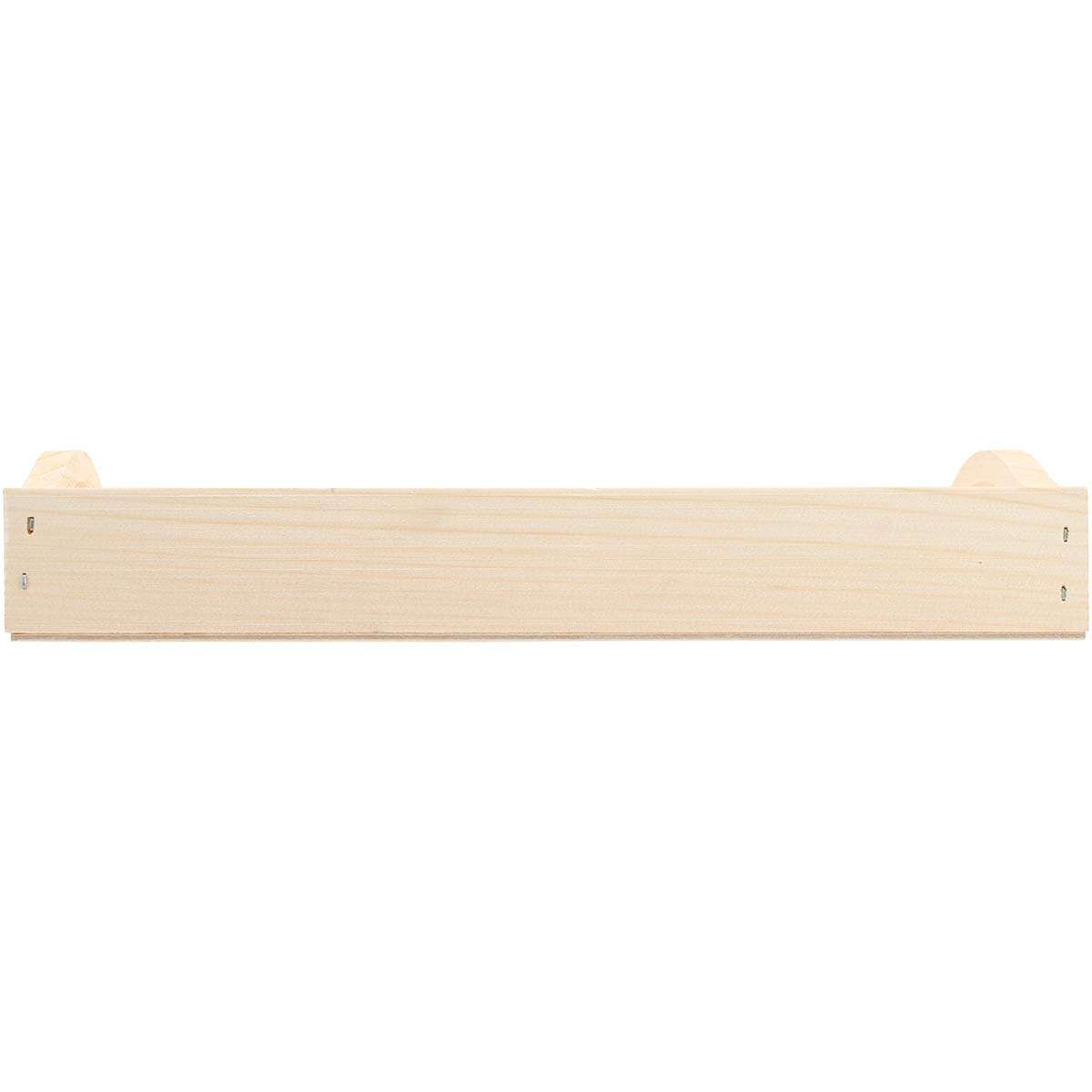 """Walnut Hollow Unfinished Wood Serving Tray for Weddings, Home Decor and Craft Projects, 8"""" x 15"""""""