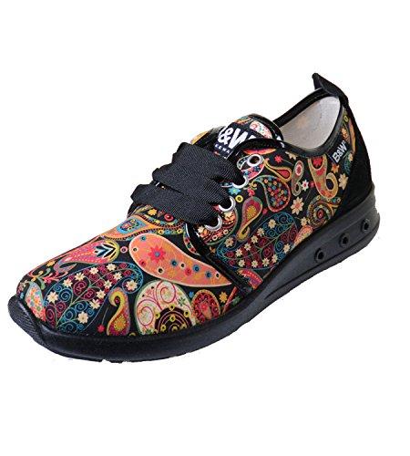 Cachemire B Break Sneaker amp; Glasdeals amp;w Scarpe Con Motivo XxwxRCqUv