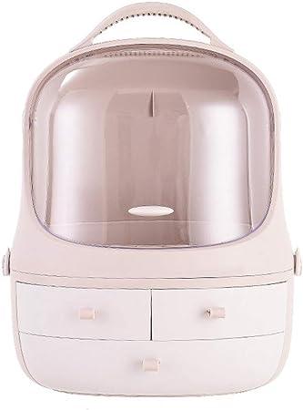 XXLLQ Caja para Cosméticos Organizador Guardar Espacio De Escritorio Maquillaje Cajón Almacenamiento Tipo de Almacenamiento a Prueba Polvo Escritorio Rack Multifunción: Amazon.es: Hogar
