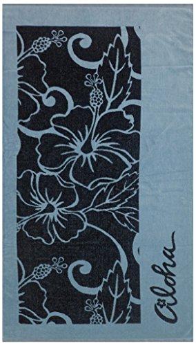Maghso Beautiful Egyptian Cotton Luxury Oversized Aloha Beach Towel, 36 x 64