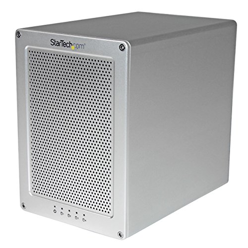 StarTech.com 4-Bay Thunderbolt 2 Hard Drive Enclosure