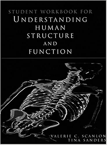 Book Student Workbook for Understanding Human Structure and Function