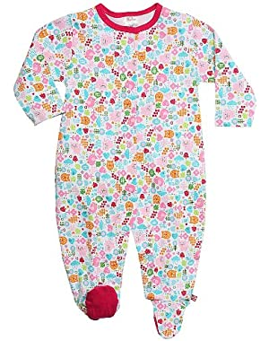 Baby Girls' Mochi Footie