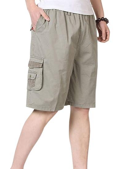 bcab766f26 Tanming Men's Shorts (Medium, Beige) | Amazon.com