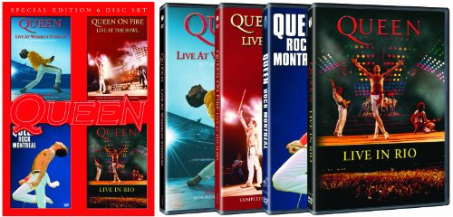 Live At Wembley Stadium 25Th Anniversary Edition   Rock Montreal   Live In Rio   On Fire  Live At The Bowl