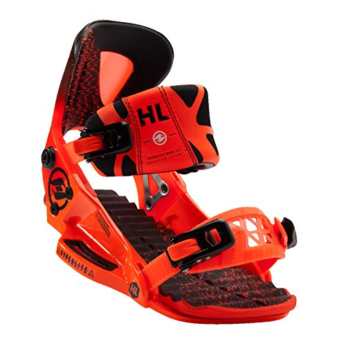 Hyperlite The System Pro (Orange) Wakeboard Bindings