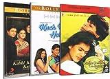 Shahrukh Khan Set of 3 DVD Collection (Dilwale Dulhani Le Jayenge / Kuch Kuch Hota Hai / Kabhi Khushi Kabhie Gham