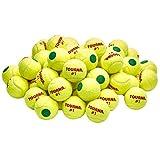Tourna Pressurized Green Dot Tennis Balls 18 Pack Green Dot Tennis Balls Pressurized
