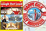 Happy Madison Mega Pack: Laugh Out Loud- Here Comes The Boom/ Paul Blart Mall Cop/ Zookeeper + Billy Madison/ Happy Gilmore (5 Feature Film -DVD Bundle)