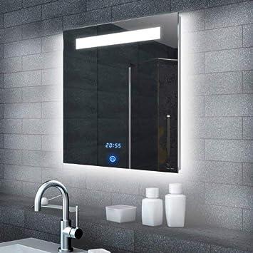Lux Aqua Led Beleuchtung Badspeigel Badezimmerspiegel Lichtspiegel