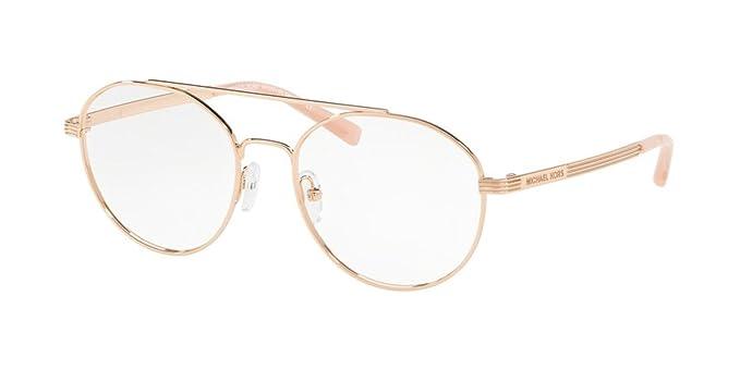 93cef73f447a6 Michael Kors ST. BARTS MK3024 Eyeglass Frames 1108-52 - Rose Gold ...
