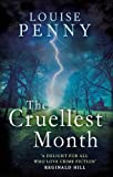 Front cover for the book The Cruellest Month by Louise Penny