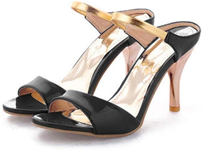 Black Women/'s High Heel Stiletto Shoes Assorted Sizes